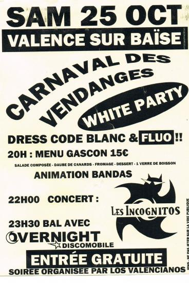 Carnaval vendanges 25 oct 2014